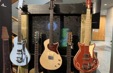 Matthieu Humbert interview - Melophonic's guitars and lap-steels at the 2019 Guitar Summit