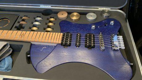 Soultool Guitars, Egon Rauscher luthier interview with an intriguing new guitar