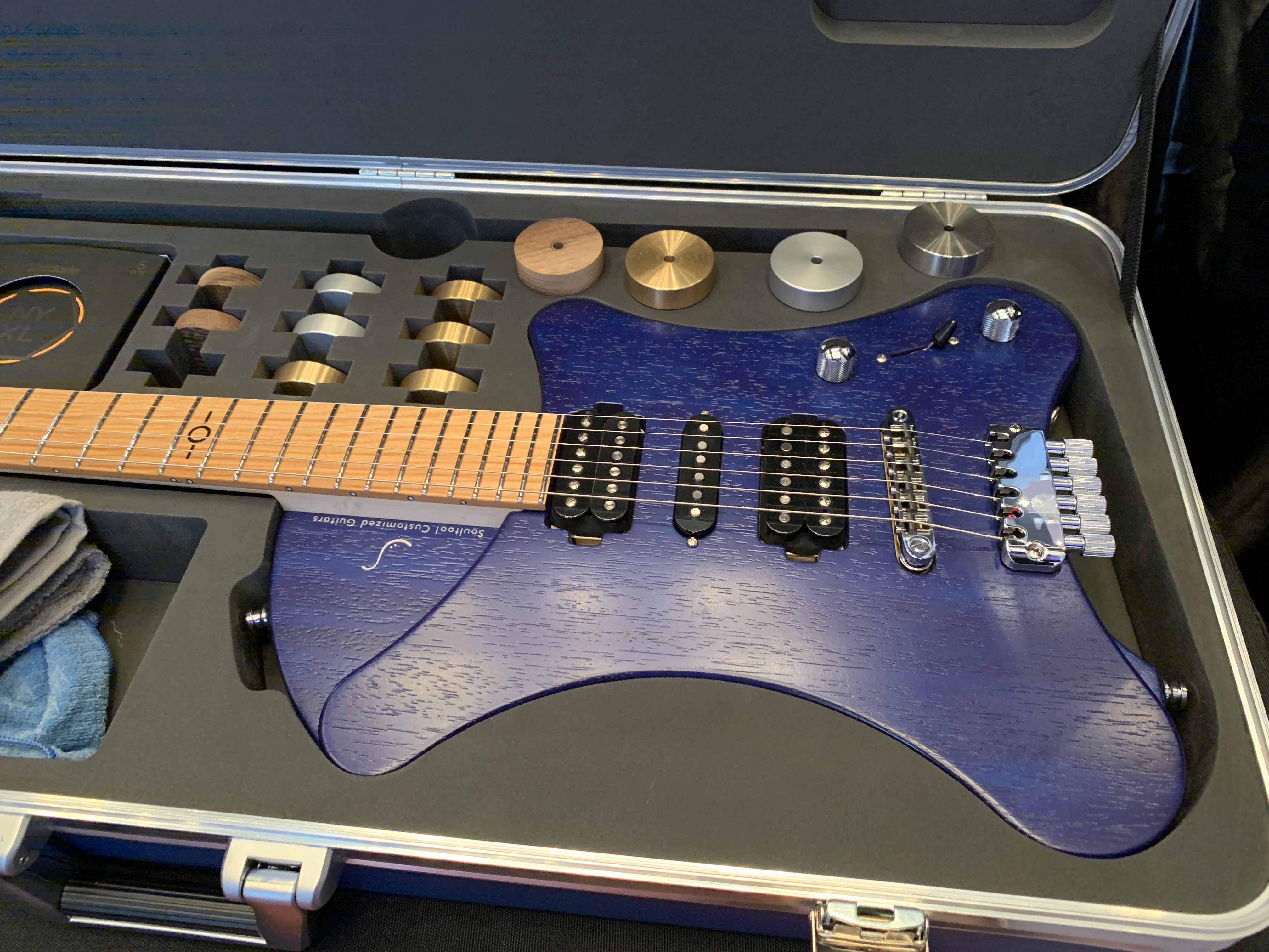 Soultool Guitars, Egon Rauscher luthier interview with an intriguing new guitar - The Guitar Channel