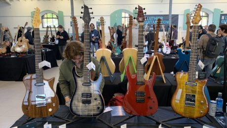 Madrid Luthier Guitar Show - Video report for day 1