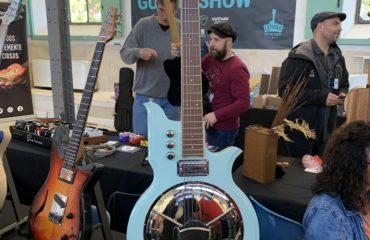 Ralph Bonte luthier interview - Arrenbie Guitars at the 2019 Madrid guitar show