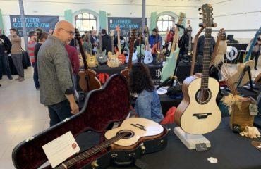 Luis Guerrero luthier interview, acoustic guitar builder - Madrid Luthier Guitar Show 2019