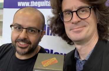 Don Poniz Pedals - Luciano Ponzio pedal builder interview at the Madrid Luthier Guitar Show