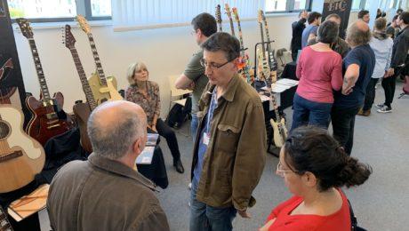 7 test studios: once again the big advantage of the Puteaux guitar show