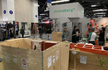 Winter NAMM 2020 - Installation of the show - Vlog January 15th