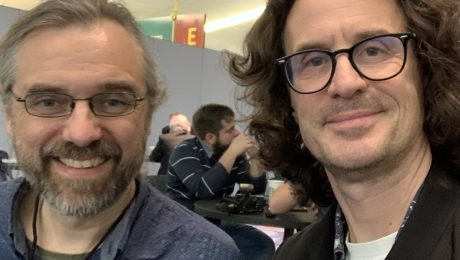 Jens Larsen interview, awesome Jazz YouTuber - NAMM 2020