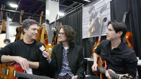 Luthier Stephen Marchione and Jazz guitar player Mike Moreno interview