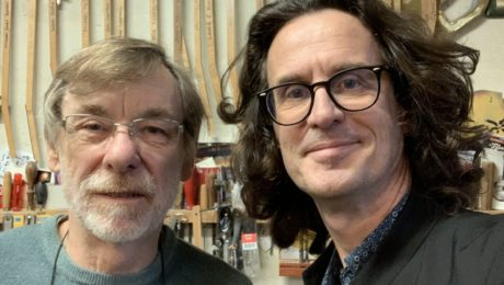 Mike Lewis, his story with Eric Clapton, the phone call from George Harrison and other stories