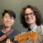Joseph Yun, guitar in hand interview at the Musicians Institute Hollywood