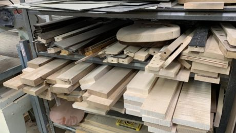 Selecting woods for electric guitars by luthier Avi Shabat