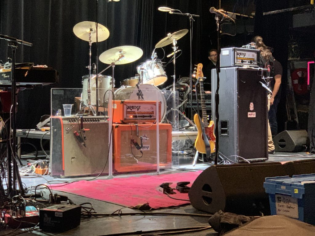 Marcus King Band soundcheck in Paris, March 1st 2020 at L'Alhambra - Marcus King amps