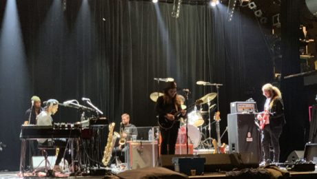 Marcus King Band soundcheck in Paris, March 1st 2020 at L'Alhambra