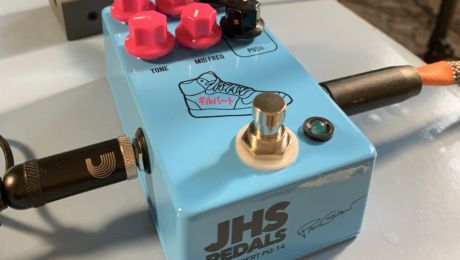 JHS PG-14, Paul Gilbert signature distortion pedal - Jam Santana