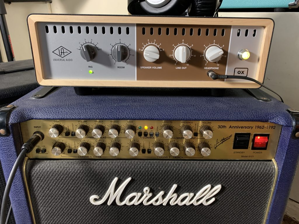 Marshall 6101 / Universal Audio Ox Box