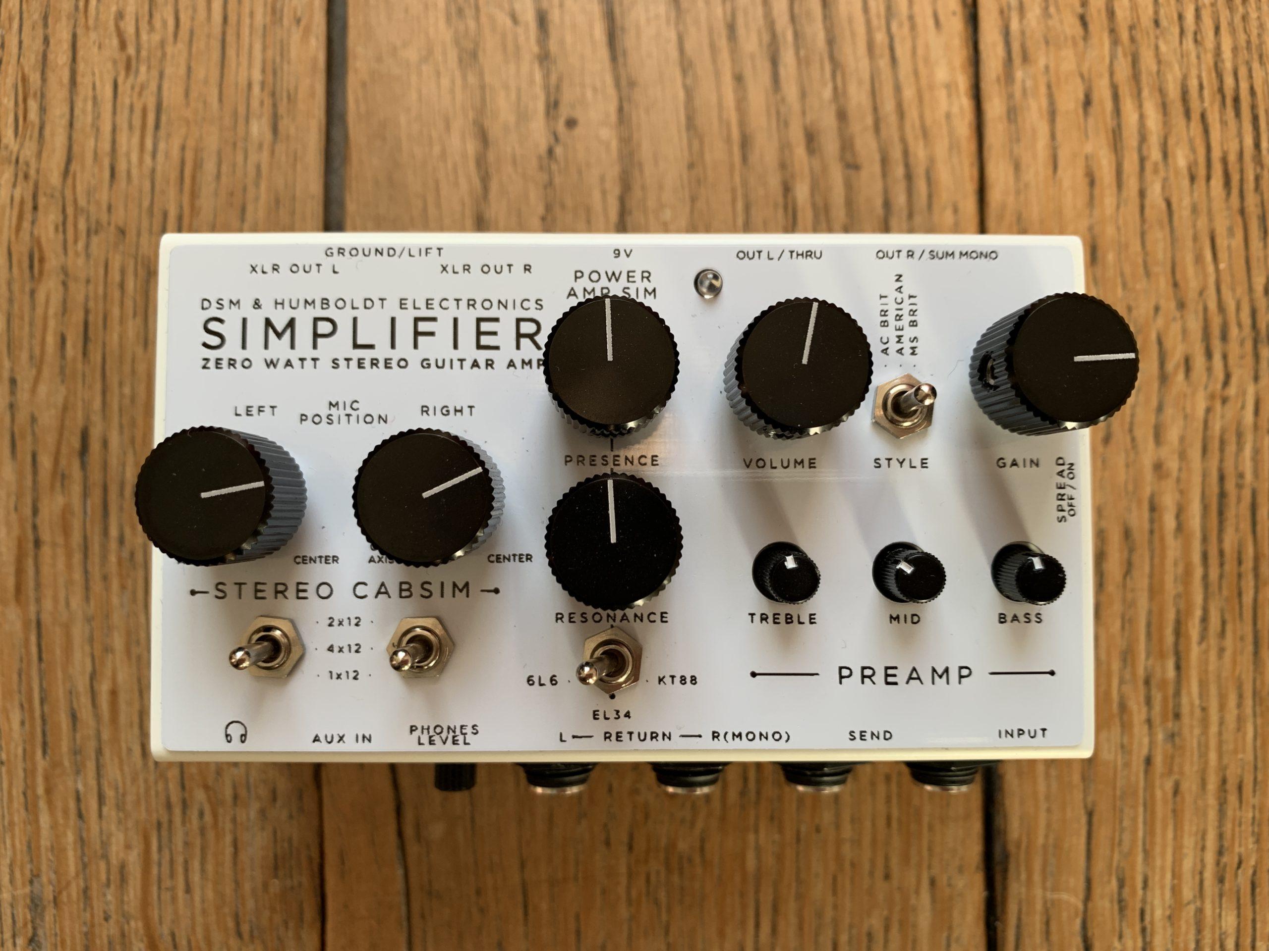 Simplifier Zero Watt DSM & Humboldt guitar preamp review