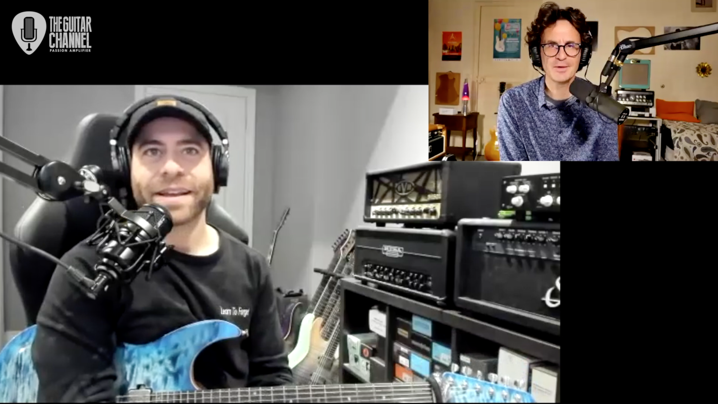 Aaron Marshall interview, guitar player for Intervals, great Metal Prog band from Canada