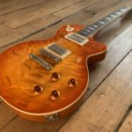 Unicorn Classic Ruokangas, a super high-end Les Paul type luthier's guitar