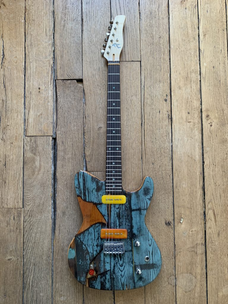 Gate Guitar #047 by Spalt Instruments - The Guitar Channel