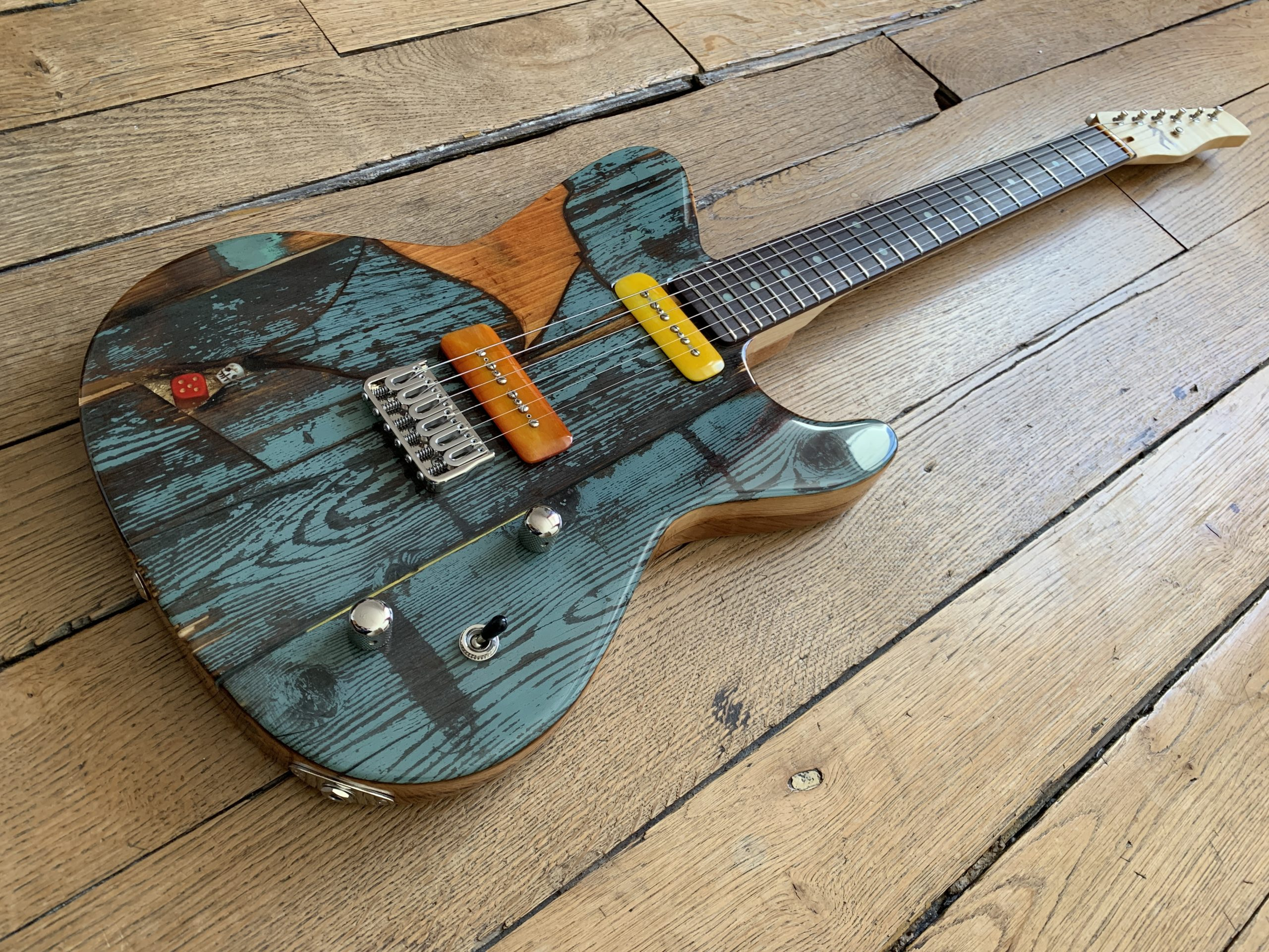 Gate Guitar #047 from Spalt Instruments - Twitch review
