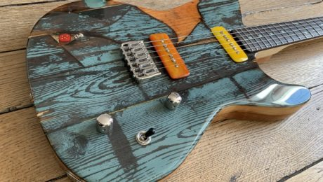 Gate Guitar #047 from Spalt Instruments, a piece of art guitar you must play!