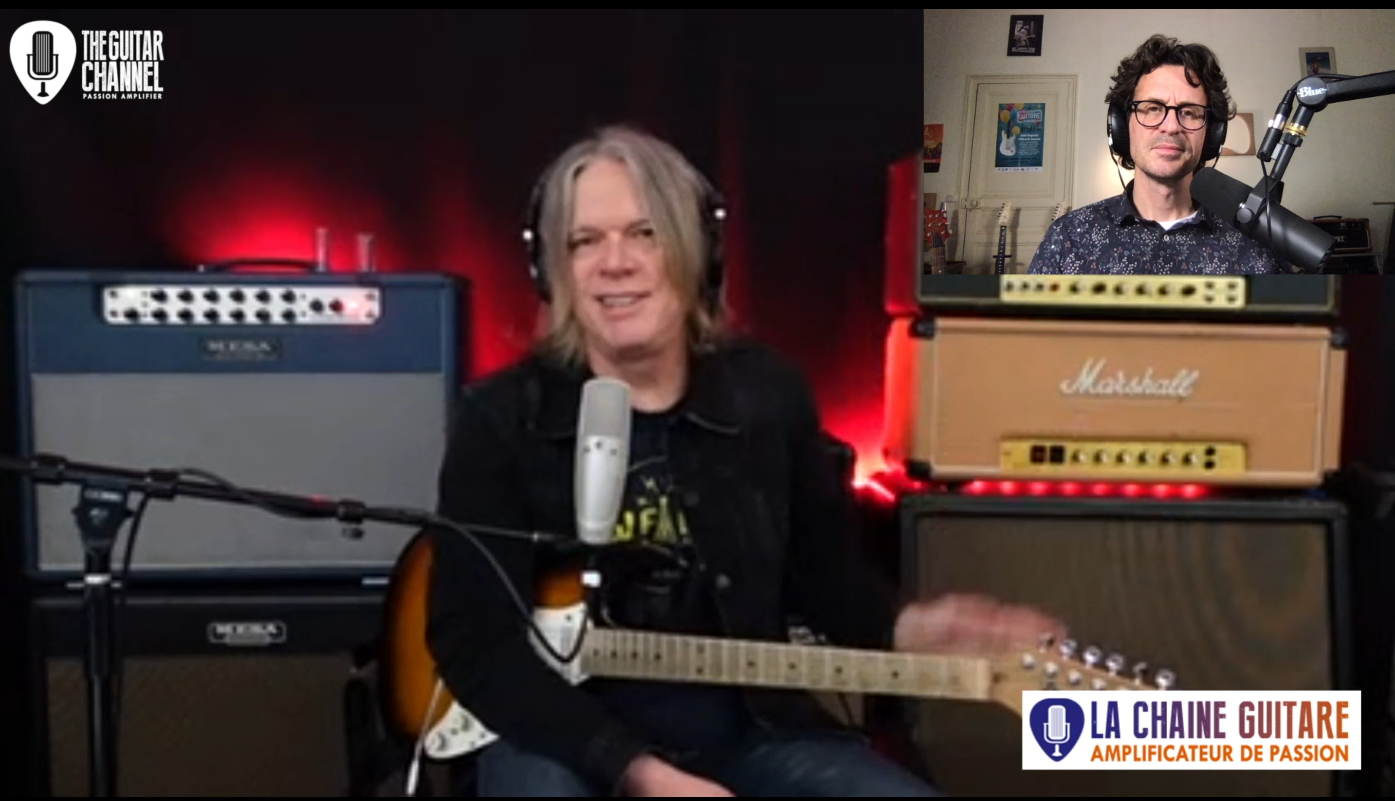Andy Timmons, live interview from his personal studio