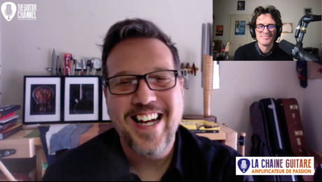 Jamie Gale, live interview with the Boutique Guitar Showcase founder