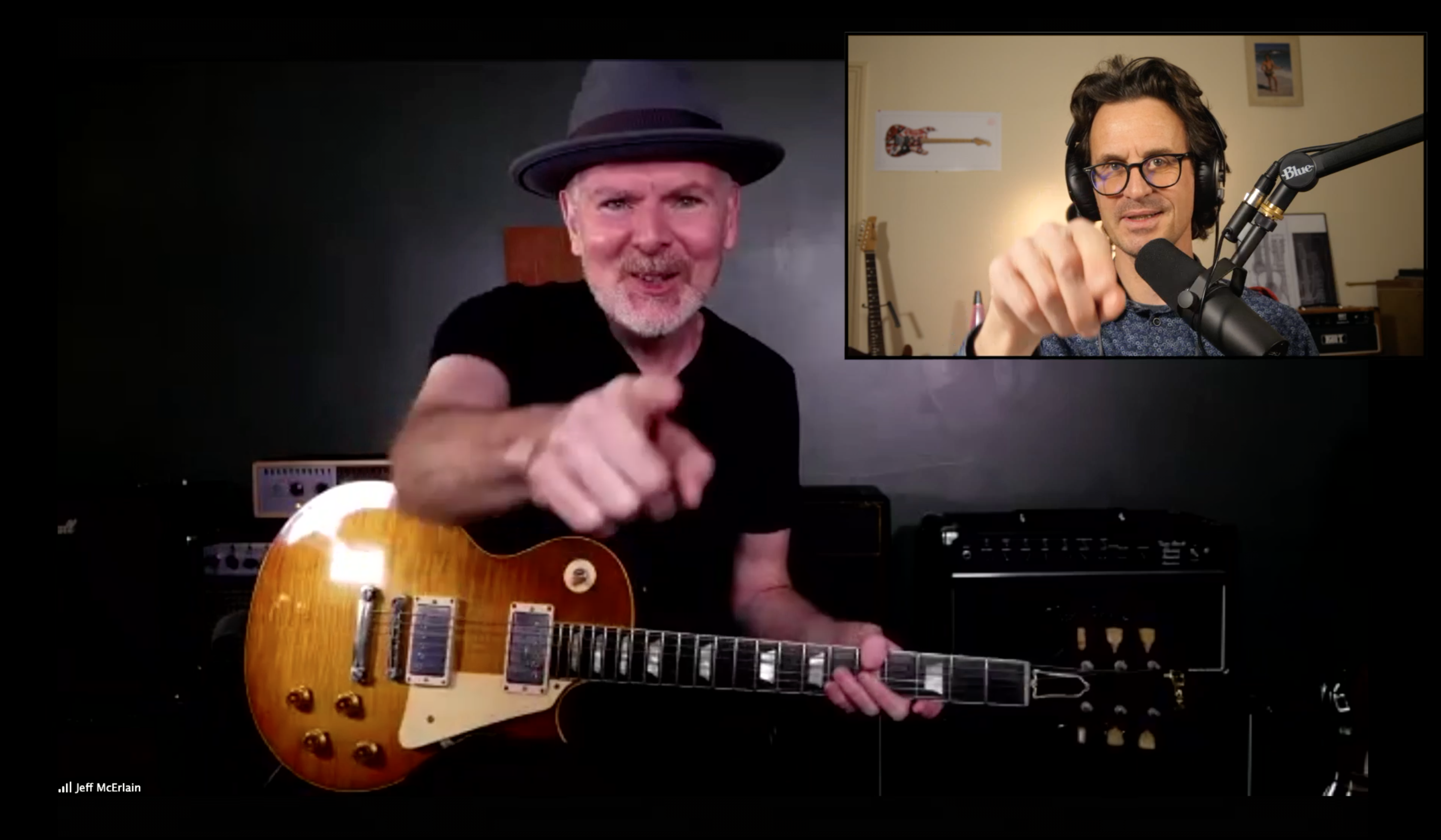 Jeff McErlain guitar in hand interview from Brooklyn with Robben Ford sideman