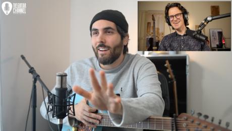 Ariel Posen guitar in hand interview about his album