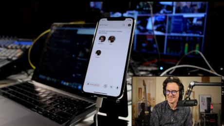 Clubhouse app demo and audio setup to get a good sound