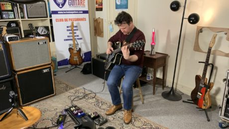 Showroom session: Sylvain Luc plays