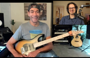 Greg Howe guitar in hand interview from Shrapnel to Michael Jackson and more