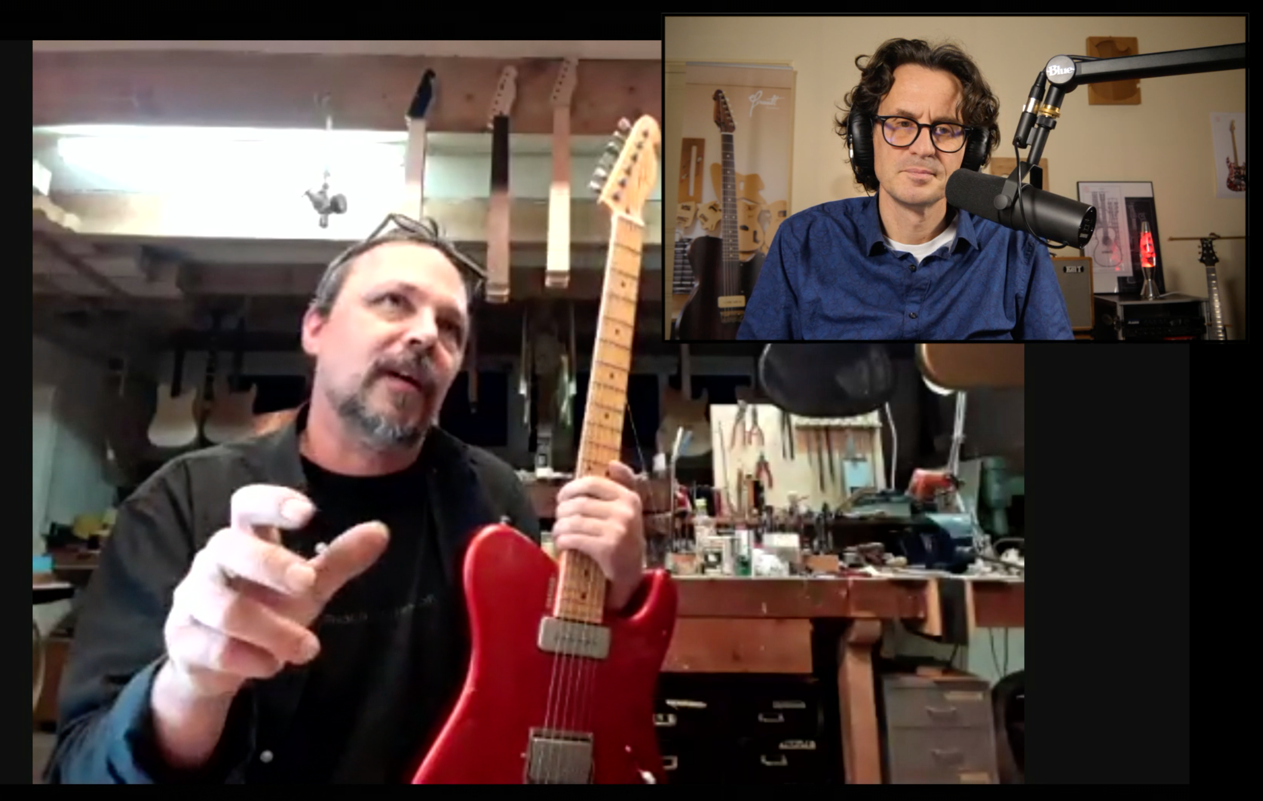 Rainer Tausch interview with the German boutique guitar builder