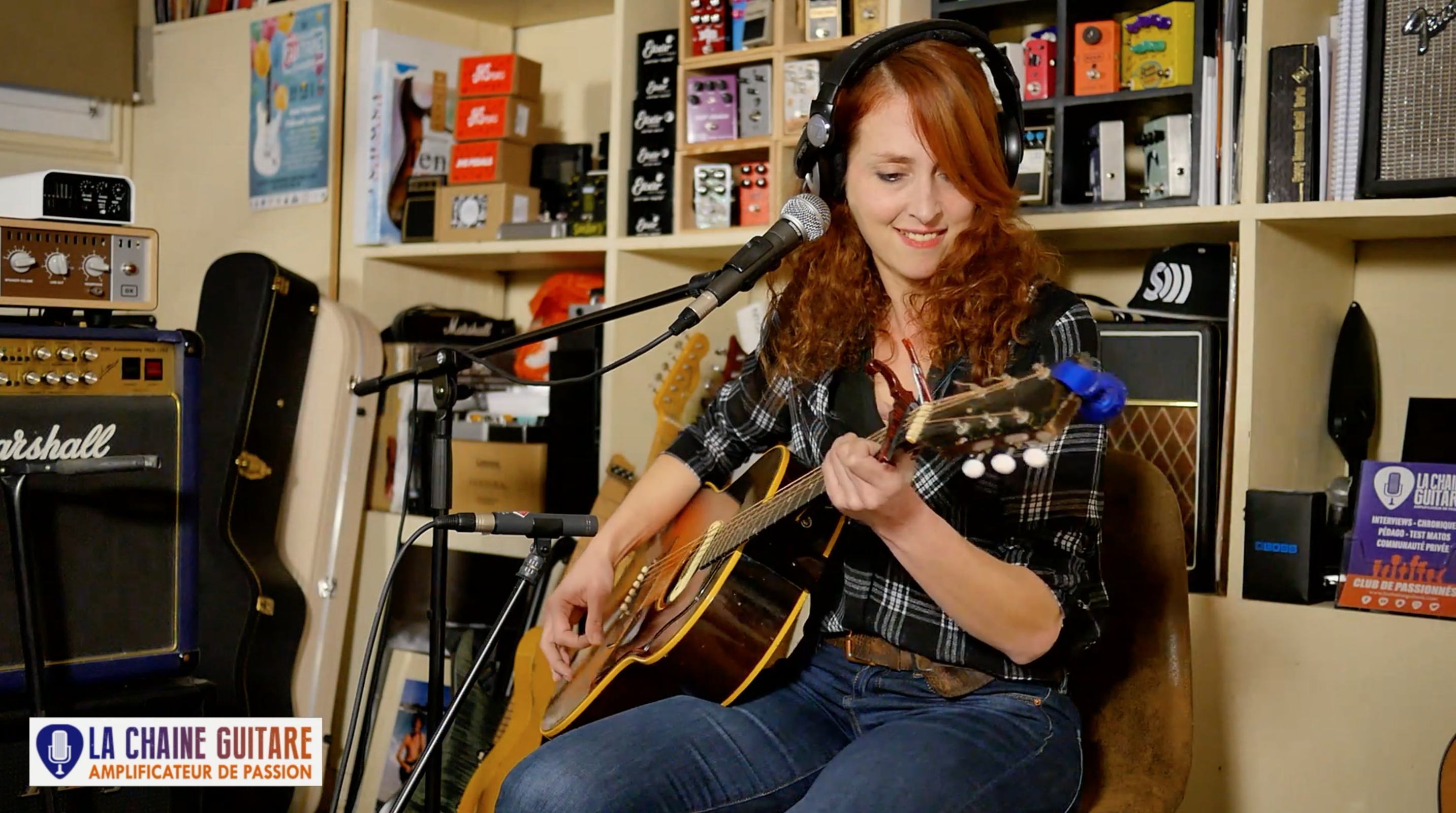 Tiphanie Doucet, replay of a live concert from the showroom in Paris, France