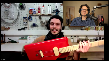 Verso Instruments, live interview with the German luthier Robin Stummvoll
