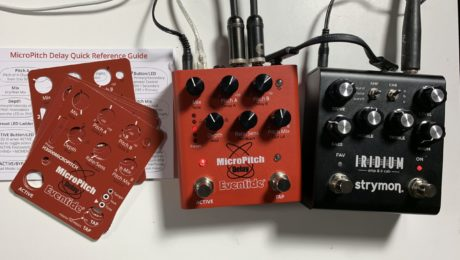 MicroPitch Eventide express gear review of a pitch shifting stereo delay