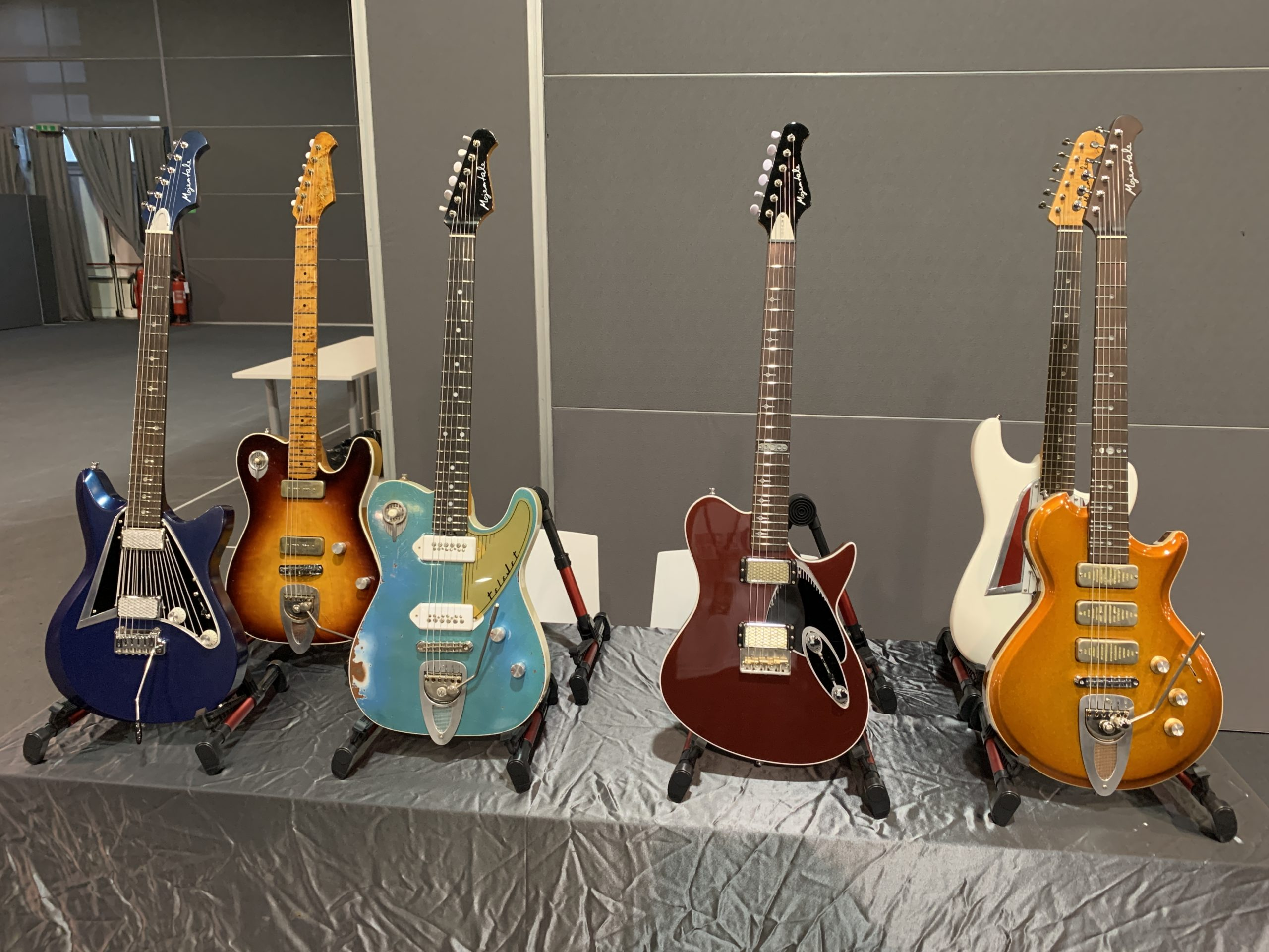 Guitar Show Italy in Padova, 1h from Venice, installation day