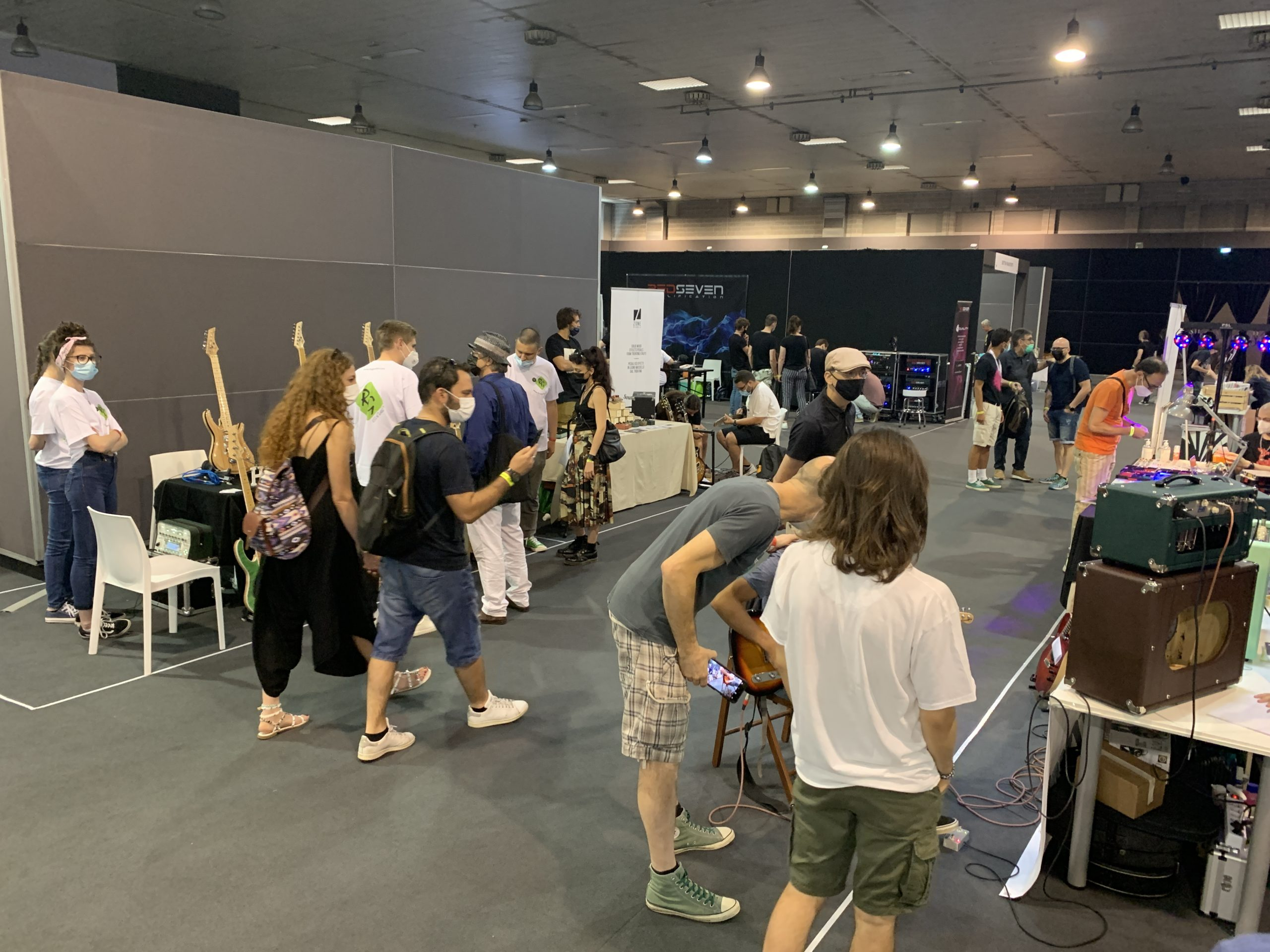Guitar Show Italy, full report of the 2nd day