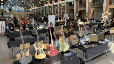 Video coverage of the Toulouse guitar show as part of the festival