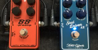 Pedal Review - Xotic Soul Driven signature Allen Hinds