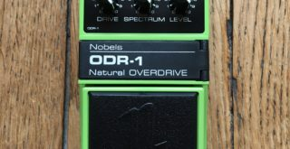 Pedal Review - Overdrive Nobels ODR-1: cool natural sounding drive tones