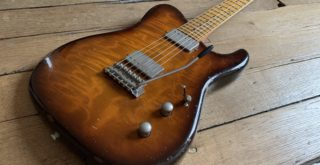 Showroom feature: Tausch Guitars model 665 Raw Deluxe
