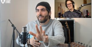 """Ariel Posen guitar in hand interview about his album """"Headway"""""""