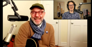 Adam Levy, guitar in hand interview from Brooklyn, New-York