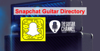 Snapchat Guitar Directory: the list of the best accounts